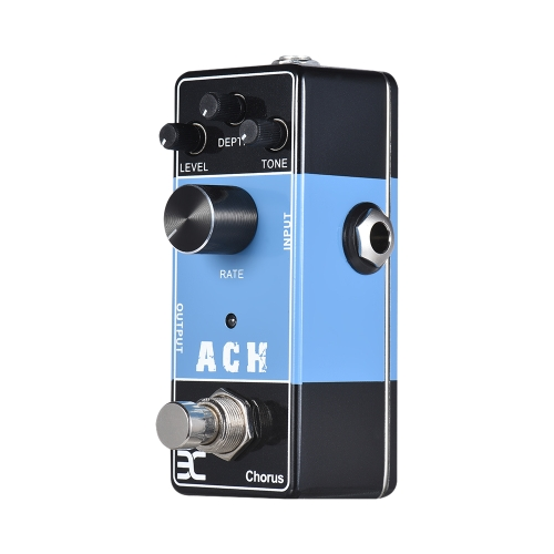 ENO EX Acoustic Guitar Pedal Series ACH Chorus Effect Pedal Full Metal Shell True Bypass