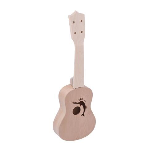 ... Musical Instruments · Strings · Ukulele. 21 Inches Unfinished DIY Ukulele Ukelele Uke Kit Basswood Body & Neck Plastic Fingerboard & Bridge