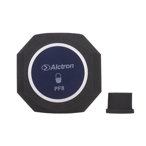 Alctron PF8 Professional Studio Grabación Micrófono Parabrisas Filtro acústico Reducción de ruido Espuma Protector