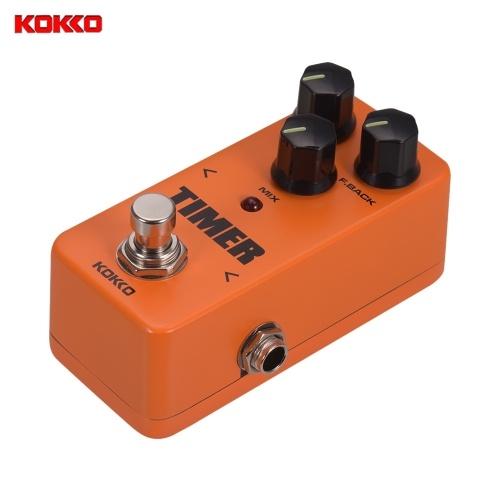 KOKKO FD2 MINI Effektpedal Timer Digital Analog Delay True Bypass E-Gitarren-Effektpedal
