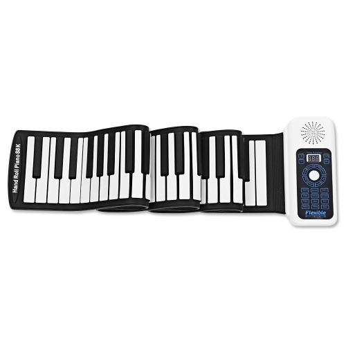88 Keys Speaker Hand Roll Up Piano фото