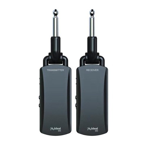 Rechargeable Guitar Wireless Audio Transmitter and Receiver Set