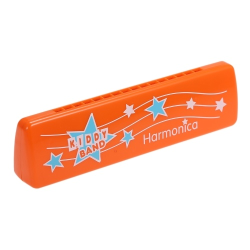16-Hole Harmonica Mouth Organ Puzzle Instrument Early Education Toy for Children Kids