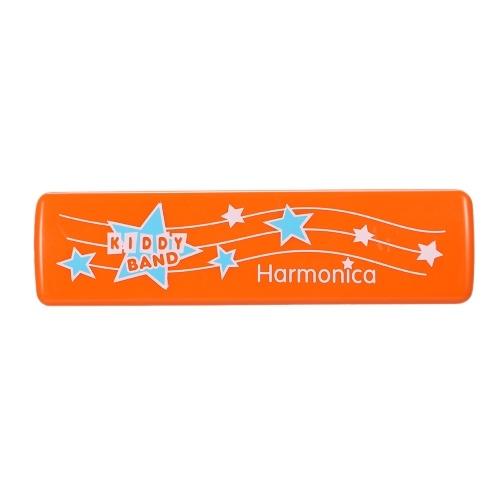Instrumento de rompecabezas de órgano de boca armónica de 16 hoyos Juguete de educación temprana para niños Niños