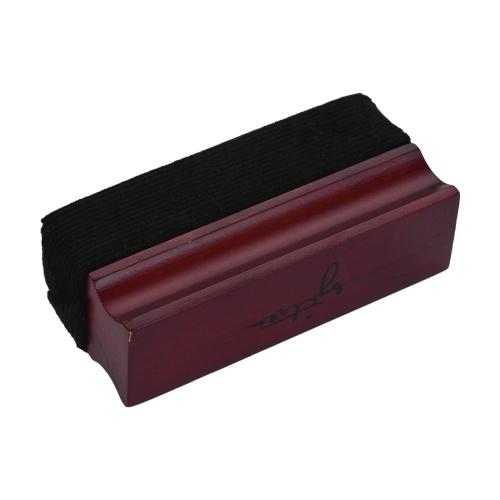 Щетка для чистки мягких бархатных пластинок с деревянной ручкой для чистки виниловых пластинок фото