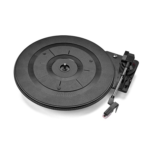 Vintage Vinyl LP Record Player Turntable 28cm 3 Speed(33/45/78 RMP) with Stylus Phonograph Accessories Parts