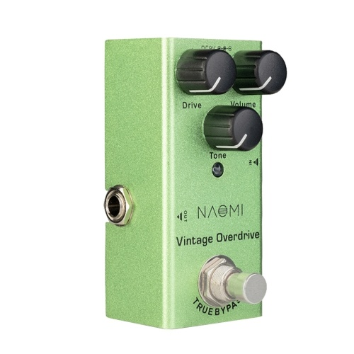 NAOMI NEP-01 Vintage Overdrive Effect Pedal