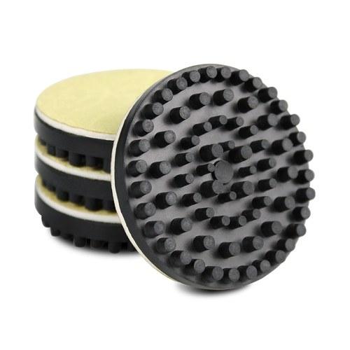 4 Stück A Set rutschfeste Schalldämpfungspads aus Gummi für Vibrations-Absorptions-Isolationspads für Schallplattenspieler