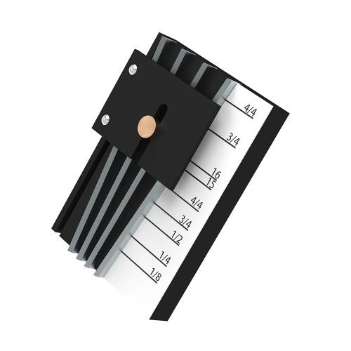 Outil universel de Lithier d'entretoise de marqueur d'espacement de corde de pont de violon d'alto