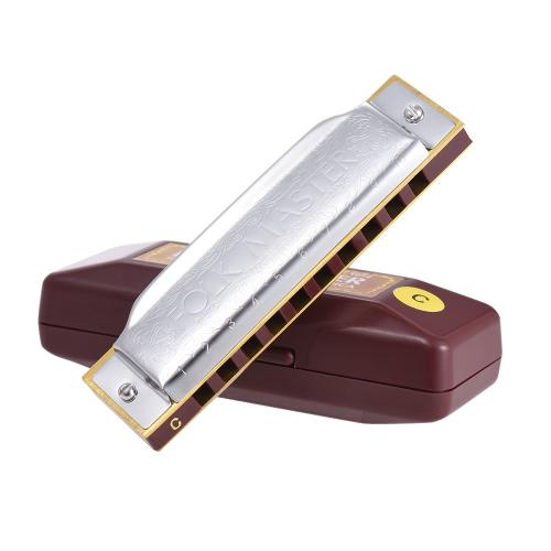 clé Harmonica diatonique standard à 10