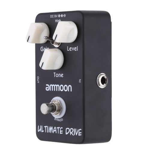 andreagiallorosso AP-02 Ultimate Drive Overdrive chitarra effetto pedale True Bypass