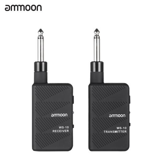 Ammoon WS-10 Cyfrowy 2,4 GHz bezprzewodowy bezprzewodowy bezprzewodowy zestaw słuchawkowy nadajnika
