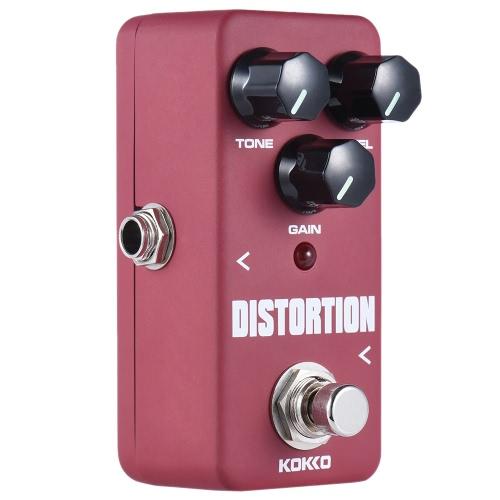 KOKKO FDS2ミニディストーションペダルポータブルギターエフェクター