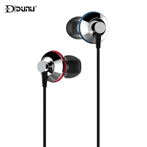 DUNU TITAN 1 In-ear Wired Earphone Headset Headphone Stereo Sound Monitor 3.5mm Audio Plug with Earbuds 6.35mm Adapter Storage Box for iPhone 6s Plus iPad for Samsung Xiaomi Smartphone