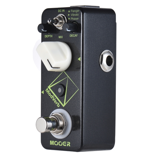 MOOER ModVerb Modulation Reverb Guitar Effect Pedal True Bypass Full Metal Shell