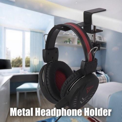 Alctron MAS007 Metal Headset Headphone Holder Hook Hanger Desk Mount Stand