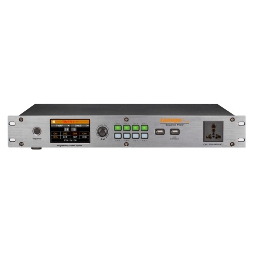Lannge T-1608 8-Kanal Intelligent Time Power Sequence Controller