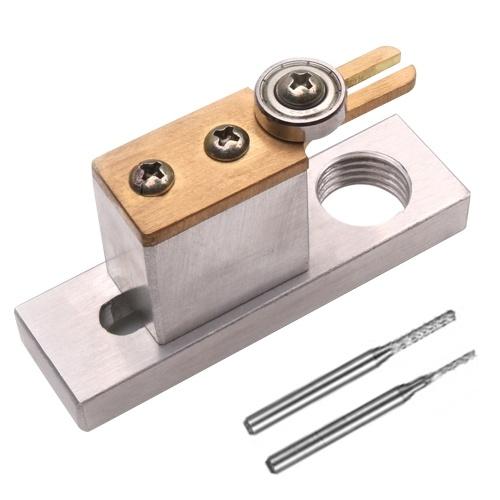 Violin Cellow Making Tools Cortador de surcos de purga eléctrica Accesorios de herramientas Luthier con dos cortadores de fresado