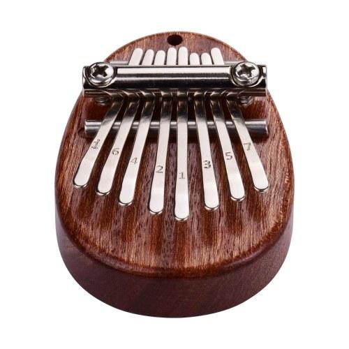 8 Keys Mini Thumb Piano Finger Percussion Kalimba