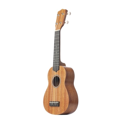 Ukulele 21 Inch Ukeleles Mini Guitar Musical Instrument Solid Wood