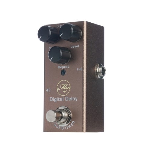 Digital Delay Guitar Effect Pedal with ABS Control Knobs Mini Single Pedal