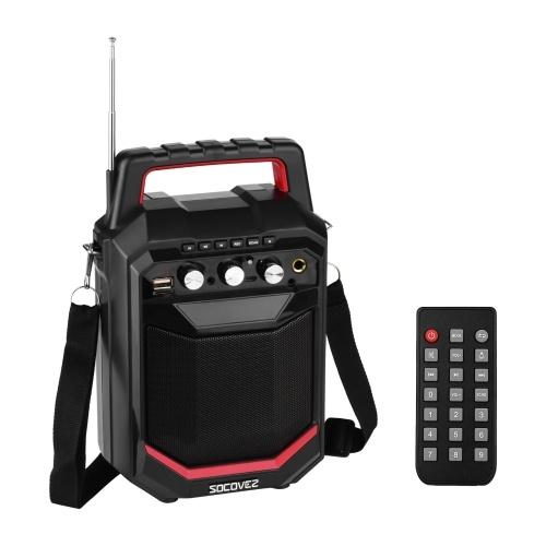 Écran LED portable sans fil BT Music Speaker 20W
