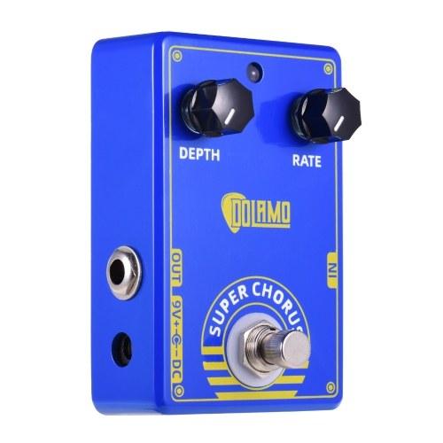 Dolamo D-3 Super Chorus Guitar Pedal Effect Pedal Chorus Pedal with True Bypass для электрогитары
