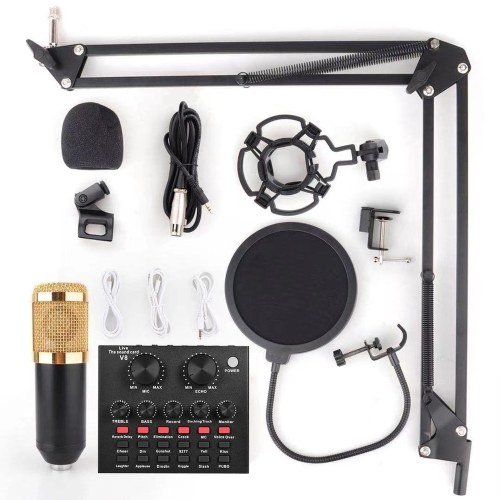 vxmba Podcast Live Broadcast Equipment Professional Condenser Microphone