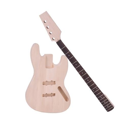 JAZZ Bass Style 4-Strunowe Elektryczne Gitara Basowa DIY Kit