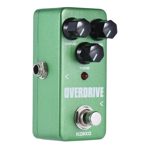 KOKKO FOD3 Mini Pedal Overdrive Guitar Pedal Efecto portátil