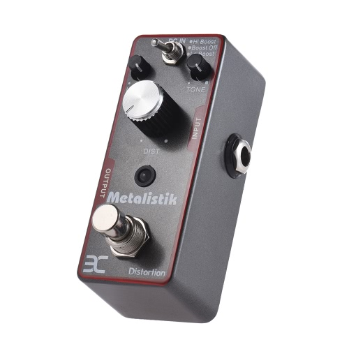 ENO TC-11 Distortion Guitar Effect Pedal Metal Ture Bypass Metalistik