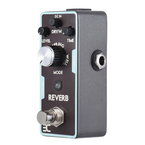 ENO Reverb Chitarra effetto Pedale True Bypass