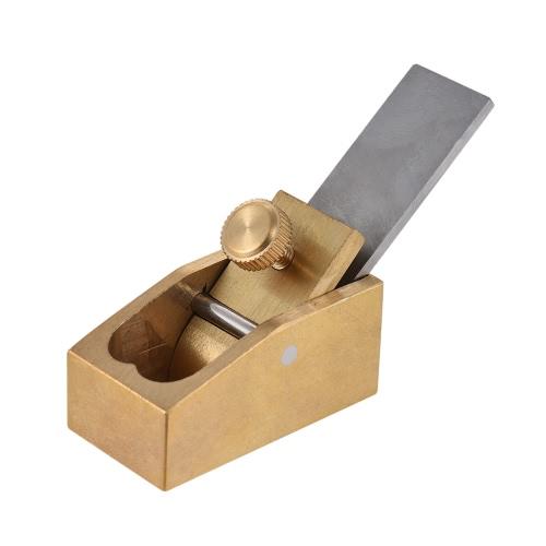 Convex Curved Sole Woodworking Plane Cutter Brass Luthier Outil pour violon Viola Violoncelle Instrument en bois