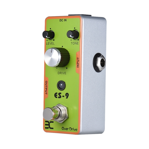 ENO EX TC-17 ES-9 Chitarra elettrica Overdrive Effect Pedal Full Metal Shell True Bypass