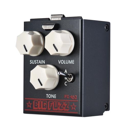 BIYANG LiveMaster Series FZ-162 Fuzz Module Guitar Effect Pedal True Bypass