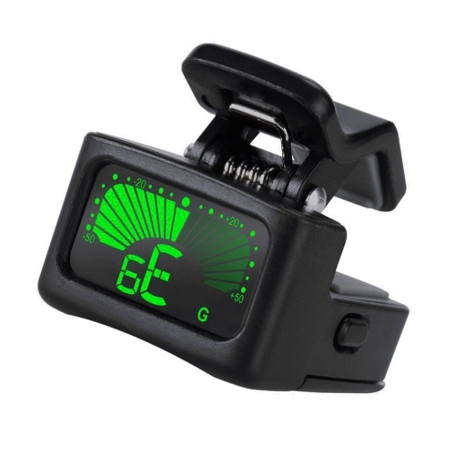 T11 Electric Tuner For Guitar Bass Violin Ukulele Portable Clip-on Tuner Accurate Tuning By String Vibration