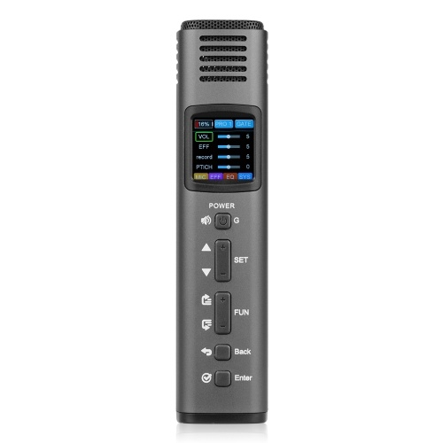 Lannge HK-620 Multi-Functional DSP Intelligent Microphone Mobile Phone Microphone with USB Sound Card