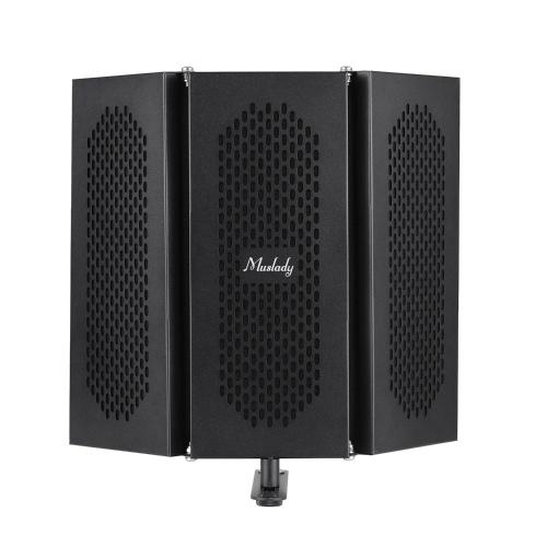 Microphone de filtre anti-pop de bouclier d'isolation de microphone d'enregistrement de studio professionnel