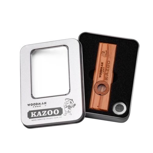 Handgefertigte Kazoo Holz Mundharmonika aus Holz