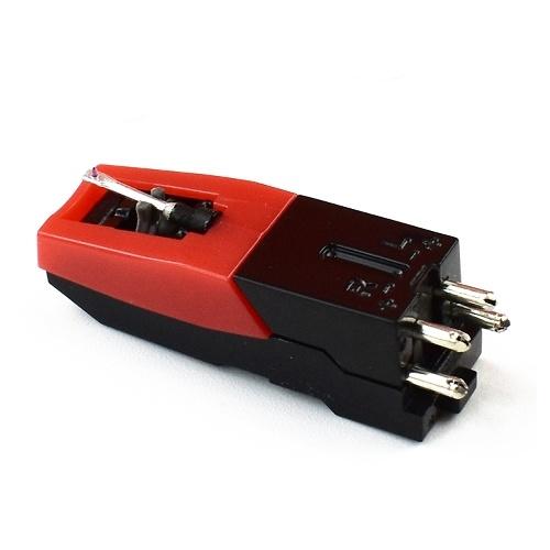 Tocadiscos de fonógrafo Pin de aguja con imán móvil doble Gramófono Reproductor de discos de vinilo Pin