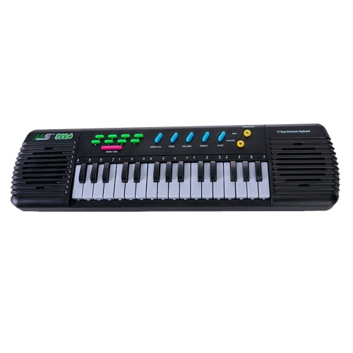 31 Keys Electronic Piano Multifunctional Electronic Organ Musical Instrument Toy with Microphone for Kids Beginners