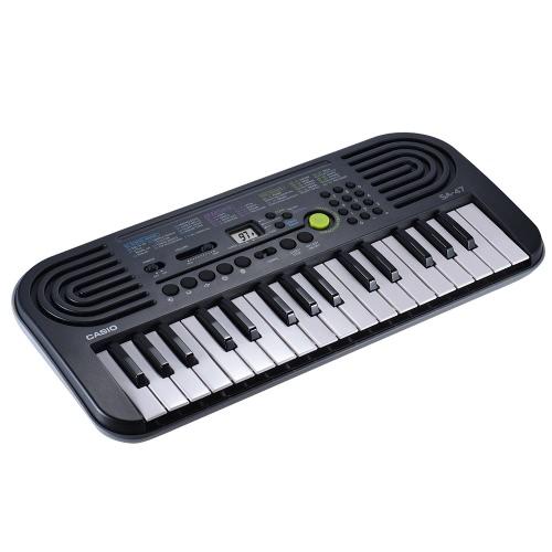 CASIO SA-47の32鍵ポータブル電子キーボード子供の子供のための電気オルガン音楽玩具