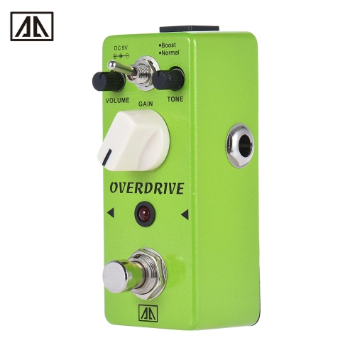 AROMA AGR-5 Classic Tube-like Overdrive Guitar Effect Pedal 2 Modes Aluminum Alloy Body True Bypass