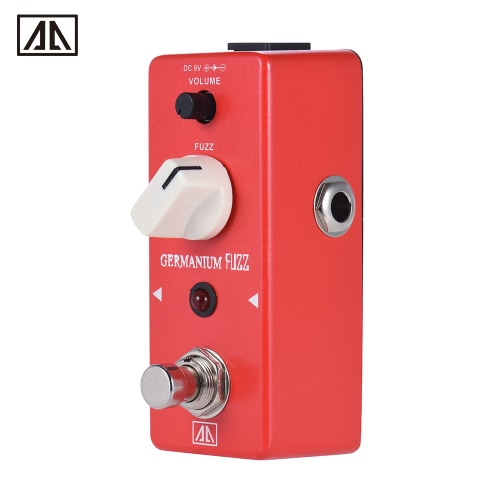 AROMA AGF-5 Classic Germanium Transistor Fuzz Guitar Effect Pedal Aluminum Alloy Body True Bypass