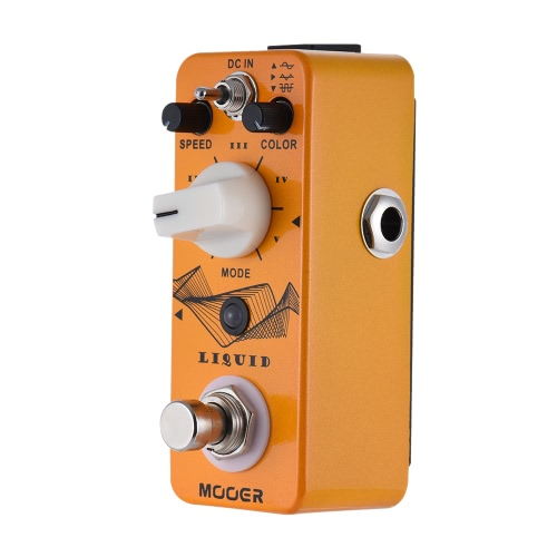 MOOER LIQUID Mini Digital Phaser Guitar Effect Pedal True Bypass Full Metal Shell