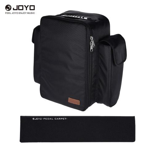 JOYO PC-1 Pedale portatile della chitarra morbida del pedale del bordo con lo zaino che trasporta il sacchetto
