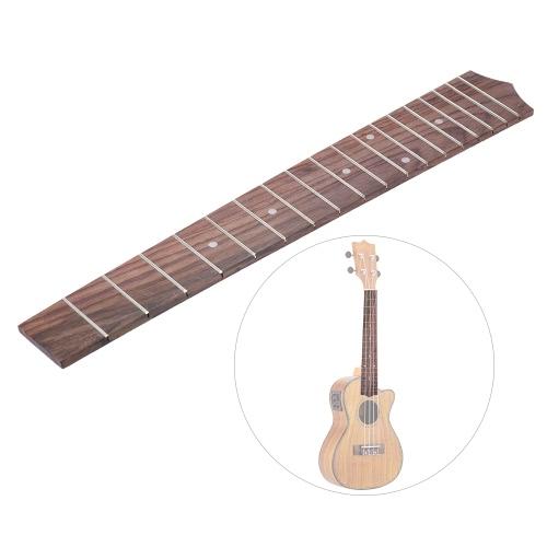 26 Inch Tenor Ukulele Hawaiian Guitar Rosewood Wood Fretboard Fingerboard 18 Frets