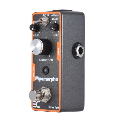 ENO TC-13 Distortion Gitarreneffektpedal True Bypass Myomorpha