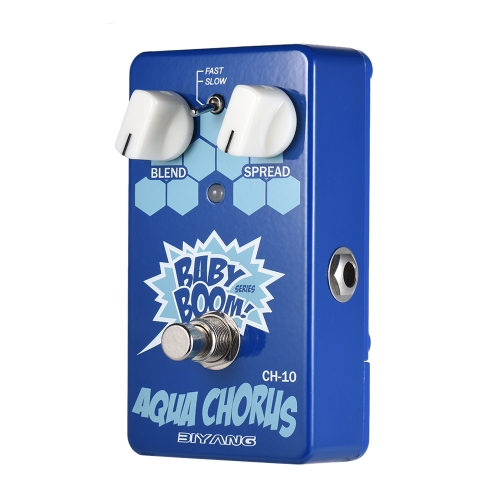 BIYANG CH-10 BABY BOOM Serie Analog Chorus Guitar Effect Pedal True Bypass Full Metal Shell