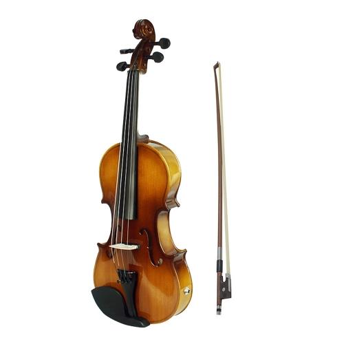 4/4 voller Größe akustische EQ Electric Violin Fiddle Kit - Retro Sonnenuntergang